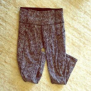 Lululemon jacquard leggings, 2